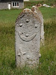 Depictions of stars with crescents are a common motif on the stećak 12th to 16th century tombstones of medieval Bosnia