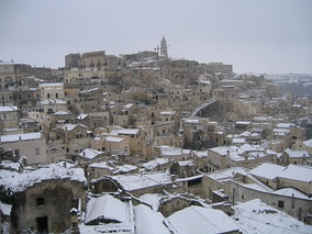 Sassi with snow (December 2007)