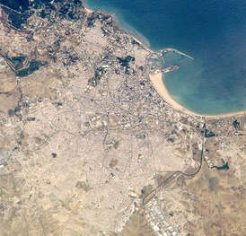 Tangier from space (2005)