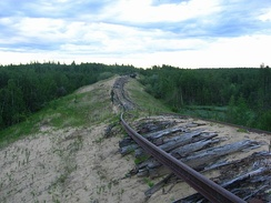 Transpolar Railway was a project of the Gulag system that took place from 1947 to 1953.