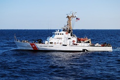 USCGC Knight Island (WPB-1348), a 110' Island-class patrol boat of the United States Coast Guard