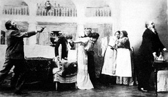 Uncle Vanya at the Moscow Art Theatre (1899), Act III