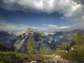 Yosemite National Park is part of the Jon B. Lovelace Collection at the Library of Congress