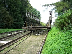 The inclined plane carriage in Buczyniec