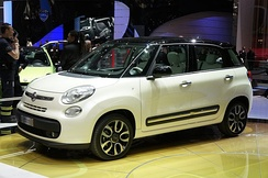 The Fiat 500L is manufactured in FCA plant in Kragujevac.