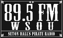 "A ""vintage"" WSOU logo, used with promotional items in the 2000s"
