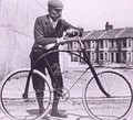 Bicycle in Plymouth, England at the start of the 20th century