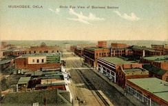 Business district c. 1910