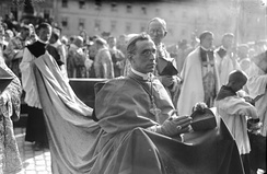 Nuncio Pacelli in July 1924 at the 900th anniversary of the City of Bamberg