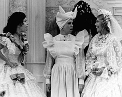 Burnett, Vicki Lawrence, and guest star Dinah Shore in the 1976 Went with the Wind! sketch