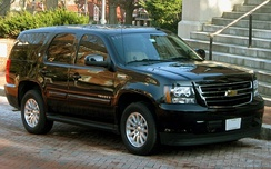 Chevrolet Tahoe Hybrid used by Maryland Governor Martin O'Malley