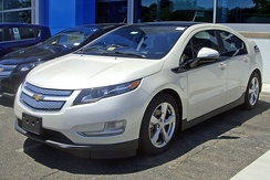The first generation Chevrolet Volt was a plug-in hybrid able to run in all-electric mode up to 35 mi (56 km).