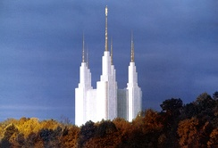 The Washington D.C. Temple is the 16th Latter-day Saint temple.