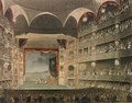 The Interior, Theatre Royal Drury Lane, burnt down 1809