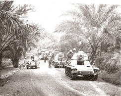 The Battle of Gabon resulted in the Free French Forces taking the colony of Gabon from Vichy French forces, 1940