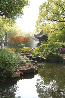 Jichang Garden in Wuxi (1506–1521), built during the Ming Dynasty, is an exemplary work of South Chinese style garden.
