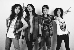 KRAS, also known as Heavy Metal Punk Machine, is an Indonesian heavy metal band