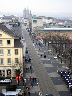 Königsstrasse, the main shopping street