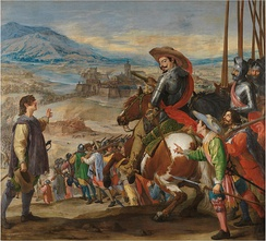 The Spanish relief of Breisach by the Duke of Feria in 1633
