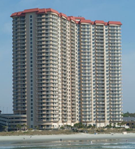 The 29-floor Margate Hotel Tower is the tallest building in Myrtle Beach.