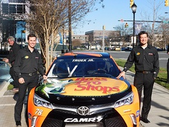 Truex's No. 78 Bass Pro Shops Toyota in 2016