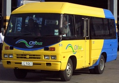Isuzu Journey operated by Citibus (New Zealand)
