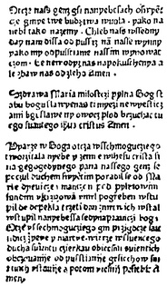 The oldest printed text in the Polish language–Statuta Synodalia Episcoporum Wratislaviensis, printed in Wrocław by Kasper Elyan, 1475