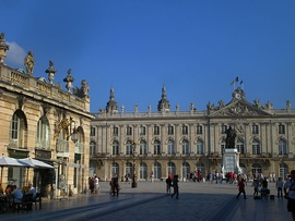 Place Stanislas in the centre of town