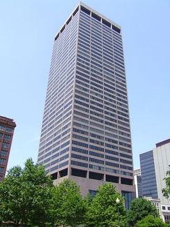 The Rhodes State Office Tower in Columbus