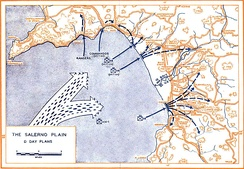 Salerno D-Day plan.