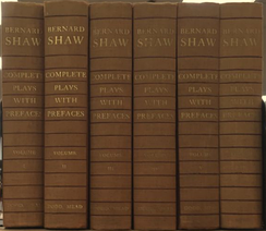 Shaw's complete plays