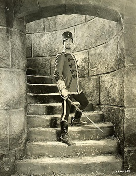 Ramon Novarro in The Prisoner of Zenda (1922).