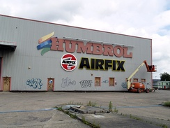 The former Humbrol factory