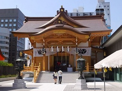 Suitengū (Tokyo) is a Shinto shrine to Varuna.
