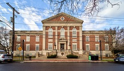 Tompkins County Court House in Ithaca New York