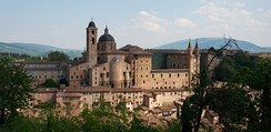 The Renaissance town of Urbino