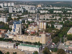 View of Voroshilovsky City District of Volgograd