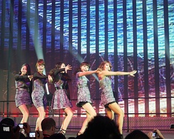 Wonder Girls performing in Seattle, September 3, 2010.