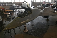 Restoration work at the USAF Museum