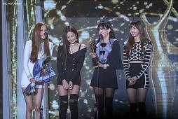Black Pink на Seoul Music Awards, январь 2018 года