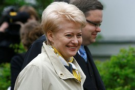 Dalia Grybauskaitė, has been the president of Lithuania since 12 July 2009.
