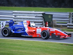 2008 Formula Renault 2.0 UK Champion Adam Christodoulou.