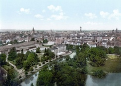 Braunschweig, capital and largest city of Brunswick, c. 1900.
