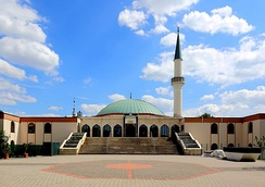Vienna Islamic Centre in the 21st city district Floridsdorf