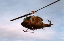 Canadian CH-135 Twin Huey serving with 408 Tactical Helicopter Squadron, 1985