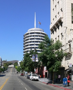 The Capitol Music Group's headquarters are located at the Capitol Records Building in Hollywood.