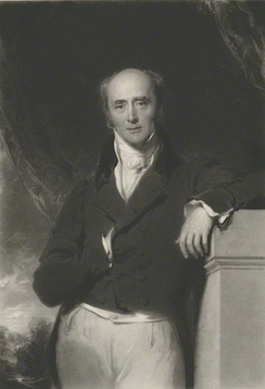 Lord Grey (painted by George Hayter) headed the Whig ministry that ushered the Reform Bill through Parliament.