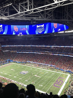 College Football Playoff Semifinal (Oklahoma vs LSU) on December 28, 2019