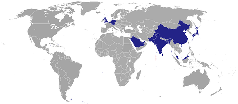 Diplomatic missions of the Maldives