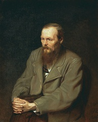 Fyodor Dostoevsky, author of Crime and Punishment